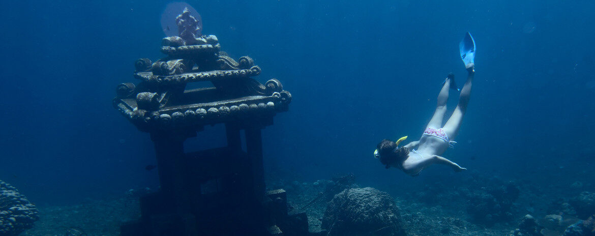 Freediving in Amed